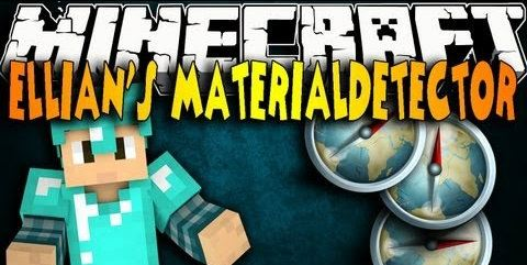Material Detector для Minecraft 1.8.1