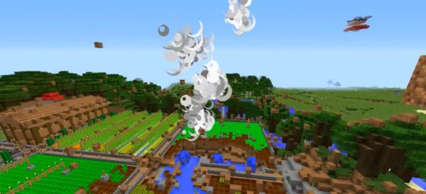 Block-Throwing Tornadoes для Minecraft 1.8.2