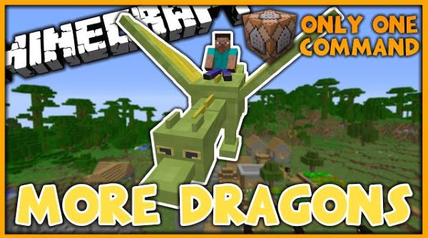 More Dragons ��� Minecraft 1.10