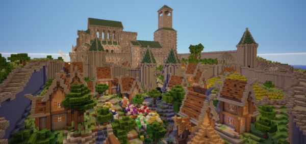 City of Bastion для Minecraft 1.10