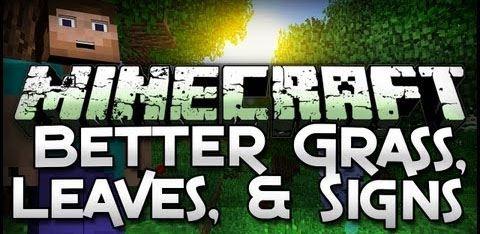 Better Foliage для Minecraft 1.9.4