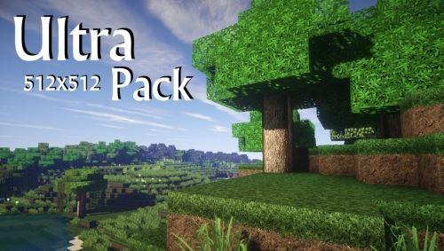 UltraPack Realistic x512 для Minecraft 1.8.9