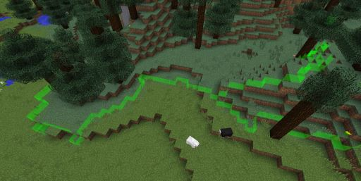 Biome Borders для Minecraft 1.10