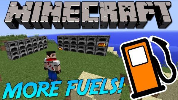 More Fuels для Minecraft 1.9.4