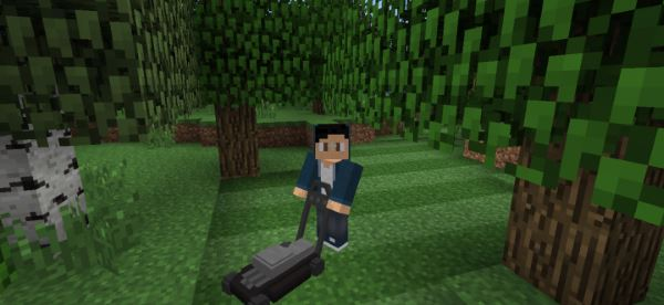 Lawnmower для Minecraft 1.7.10
