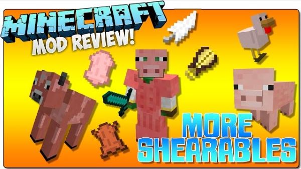 More Shearables для Minecraft 1.9.4