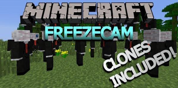 FreezeCam для Minecraft 1.7.10