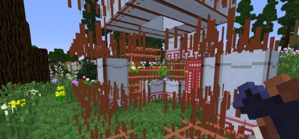 Nomadic Tents для Minecraft 1.9.4