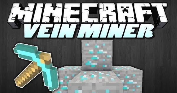 Vein Miner для Minecraft 1.10