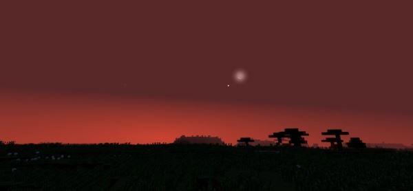 Stellar Sky для Minecraft 1.10
