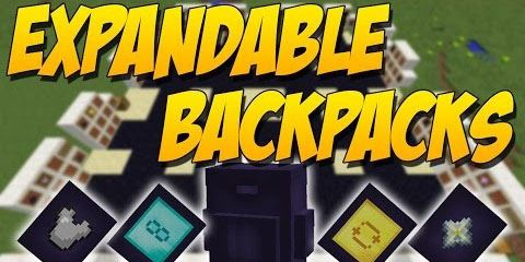 Expandable Backpacks для Minecraft 1.9.4