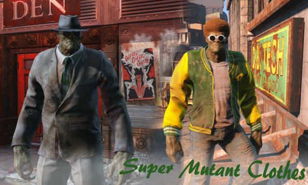 Создание одежды для супермутанта / SuperMutantClothes для Fallout 4