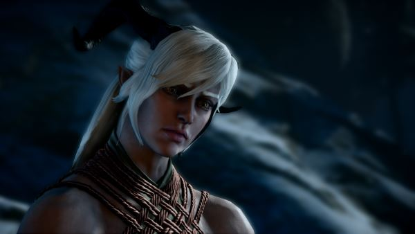 Ponytail for Female Qunari для Dragon Age: Inquisition