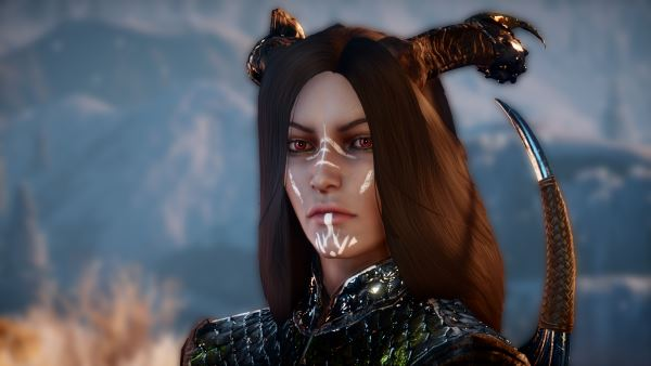 Longhair for Female Qunari для Dragon Age: Inquisition