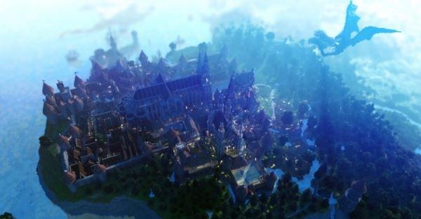 Holycube Castle для Minecraft 1.10