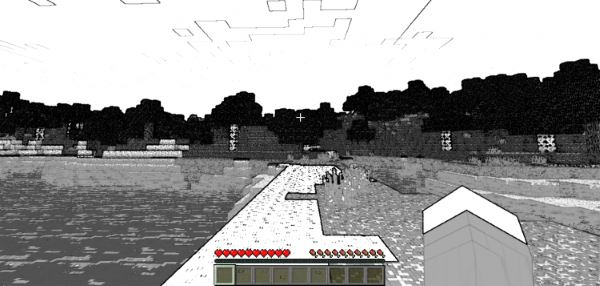 Void Glasses для Minecraft 1.8