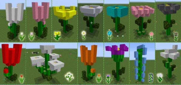 Flowercraft для Minecraft 1.9.4