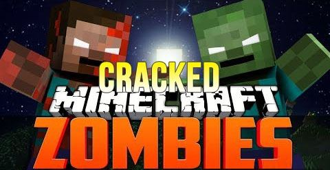 CrackedZombie для Minecraft 1.10