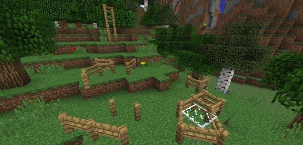 Fence Overhaul для Minecraft 1.8.9