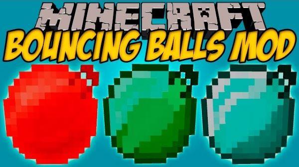 Bouncing Balls для Minecraft 1.8.9
