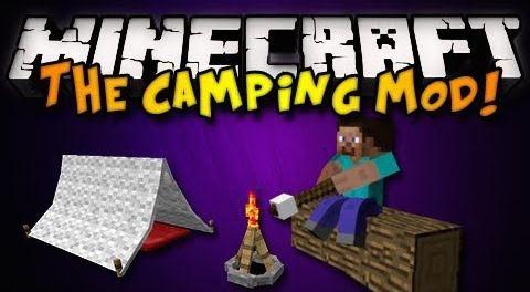 The Camping для Minecraft 1.8.9