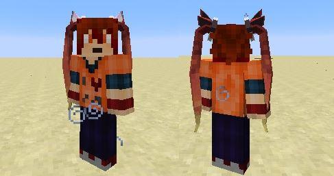 TwinTails для Minecraft 1.10