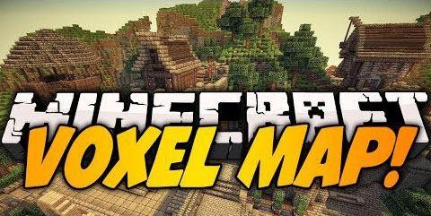 VoxelMap для Minecraft 1.10