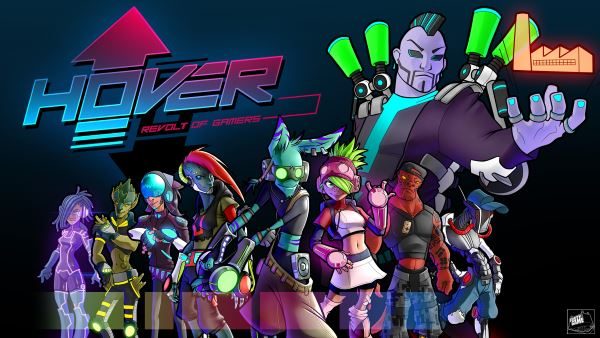 Русификатор для Hover: Revolt of Gamers