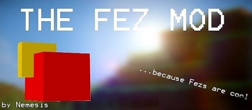 Fez для Minecraft 1.10