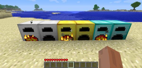 More Furnaces для Майнкрафт 1.10