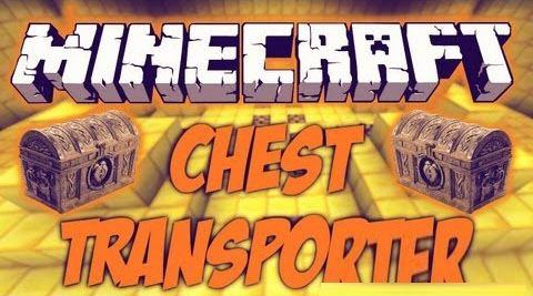 Chest Transporter для Майнкрафт 1.10