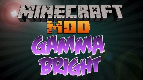 Gammabright для Майнкрафт 1.10.2