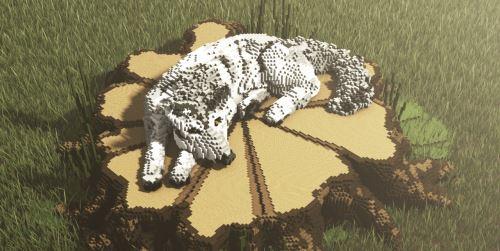 Wolf on a Stump для Майнкрафт 1.10.2