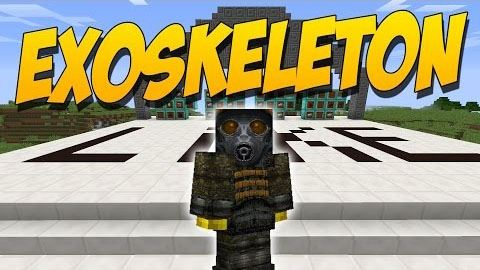 Exo Skeleton для Майнкрафт 1.9.4