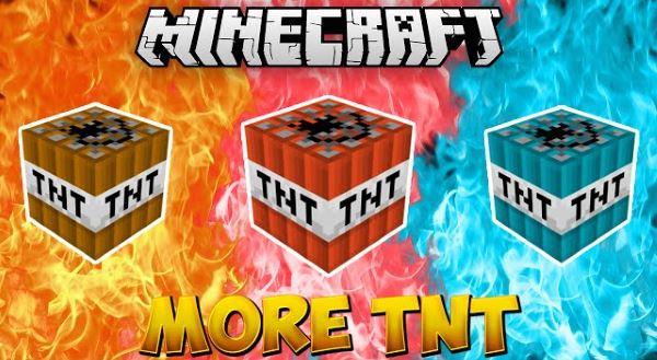 More TNT для Майнкрафт 1.10.2