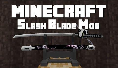 SlashBlade для Майнкрафт 1.10.2