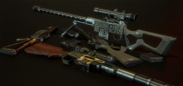 DKS-501 Sniper Rifle v 1.3 для Fallout 4