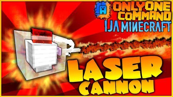 Laser Cannons для Майнкрафт 1.9.4