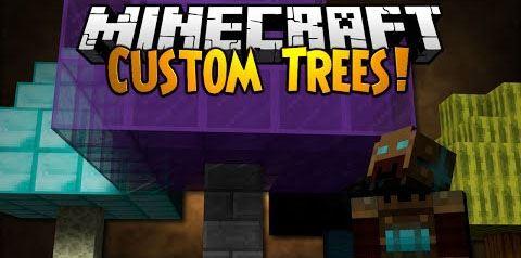 Custom Trees для Майнкрафт 1.7.10