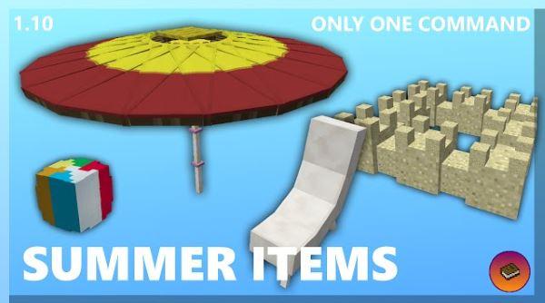 Summer decorations для Майнкрафт 1.10.2