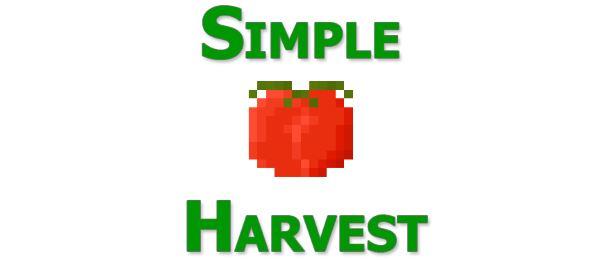 Simple Harvest для Майнкрафт 1.10.2