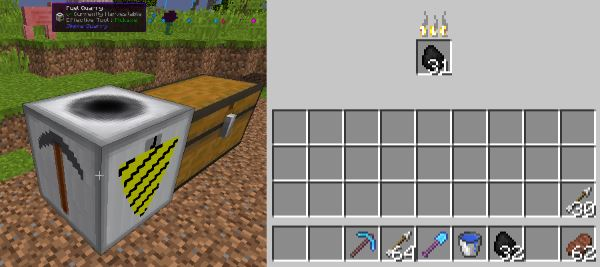 Simple Quarry для Майнкрафт 1.9.4