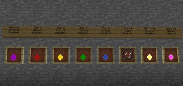 Chance Cubes для Майнкрафт 1.10.2