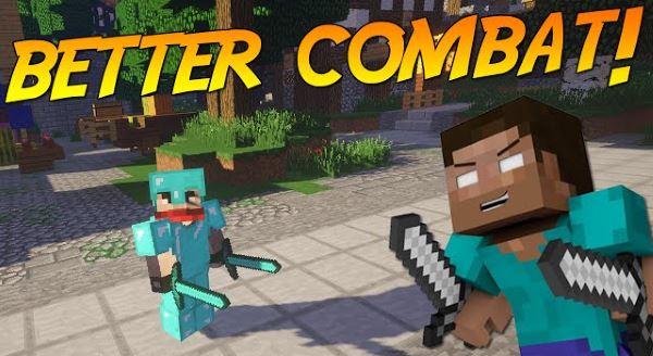 Better Combat для Майнкрафт 1.10.2