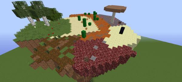 Terrain Crystals для Майнкрафт 1.10.2