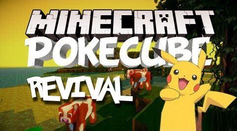 Pokecube Revival для Майнкрафт 1.10.2