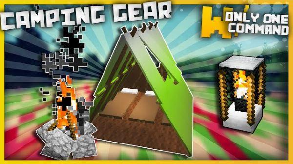 Camping Gear для Майнкрафт 1.9.4