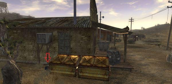 Спальный мешок «Небо над головой» в Гудспрингс для Fallout: New Vegas