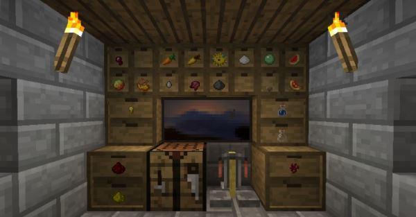 Storage Drawers для Майнкрафт 1.10.2