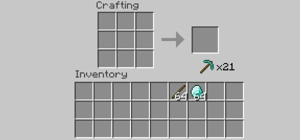 One click crafting для Майнкрафт 1.10.2